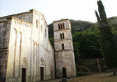 Church in Serra Monacesca, Italy — Stock Photo