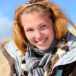 Girl portrait on altai — Stock Photo #1369197
