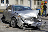 Araba kazası — Stok fotoğraf