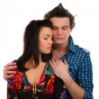 Sad couple portrait — Stock Photo #2012786