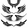 Royalty-Free Stock Vectorafbeeldingen: Wings
