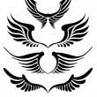 Royalty-Free Stock Vectorielle: Wings