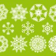 Royalty-Free Stock Immagine Vettoriale: Vector snowflakes