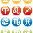 Royalty-Free Stock Vector Image: Zodiac icons