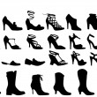 Royalty-Free Stock Imagem Vetorial: Shoes, vector