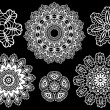 Lace pattern, vector — 图库矢量图片 #1403307