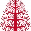 Royalty-Free Stock Imagem Vetorial: Ornamental tree