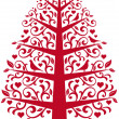 Royalty-Free Stock Vektorgrafik: Ornamental tree