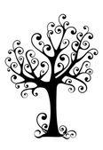 Ornamental tree — Stock Vector