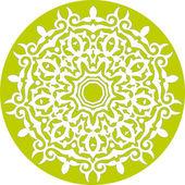 Motif floral abstrait — Vecteur