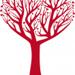 Vector de stock : Heart tree