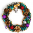 Christmas wreath — Stock Photo #1335814