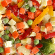 Frozen mixed vegetables — Stock Photo #1729005