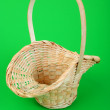 Pink wicker basket — Stock Photo #1729089