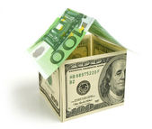 Money house — Stock Photo
