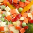 Frozen mixed vegetables — Stock Photo #1769572
