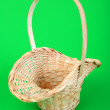 Pink wicker basket — Stock Photo #1769610