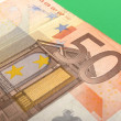 Fifty euro banknote — Stock Photo #1936117