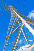 Pylon of electric line — Stock Photo