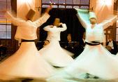 Dance of dervish — Stock Photo