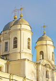Orthodox church in St-Petersburg, Russia — Stock Photo