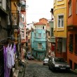 Stock Photo: Old cobblestone street in Istanbul