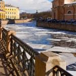 Embankment of river fontanka — Stock Photo #1514912