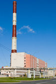 View of heating power station — Stock Photo