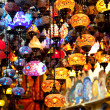 Stock Photo: Lamps in Turkish shop, Istanbul