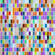 Colored mosaic surface as background — Stock Photo
