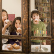 Stock Photo: Hanukkah celebration