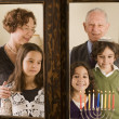 Stock Photo: Family Hannuka