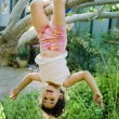Young girl on tree — Stock Photo #1337134
