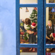 Christmas window - Stock Photo