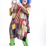 Clown alarm clock — Stock Photo #1337415