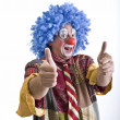 Clown thumbs-up — Stock Photo #1337688