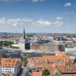 Copenhagen Denmark Panorama — Stock Photo