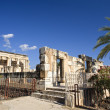 Synagogue Capernaum — Stock Photo