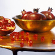 Stock Photo: Pomegranates