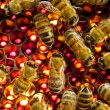 Bees inside beehive — Stock Photo #1342276