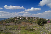 Jewish Village in the Galilee Israel — Stock Photo