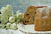 Dried Fruit Cake — Stock Photo