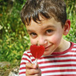 Stock Photo: Boy with lollypop