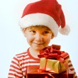 Boy and presents — Stock Photo #1412828