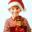 Boy and presents — Stock Photo #1412849