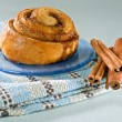 Cinnamon bun — Stock Photo #1412992