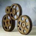 Cog-wheels — Stock Photo