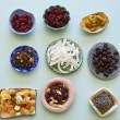 Assorted dry fruits — Stock Photo