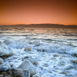 Sunrise over the dead sea — Stock Photo #1413207