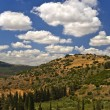 Galilee landscape — Stock Photo